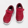 Czerwone trampki dziecięce na rzepy nike, czerwony, 309-5179 - 16