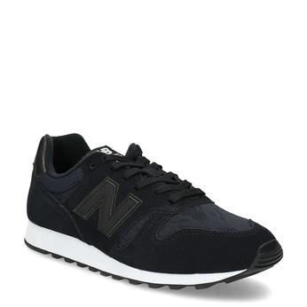 Czarne trampki damskie wsportowym stylu new-balance, czarny, 503-6874 - 13