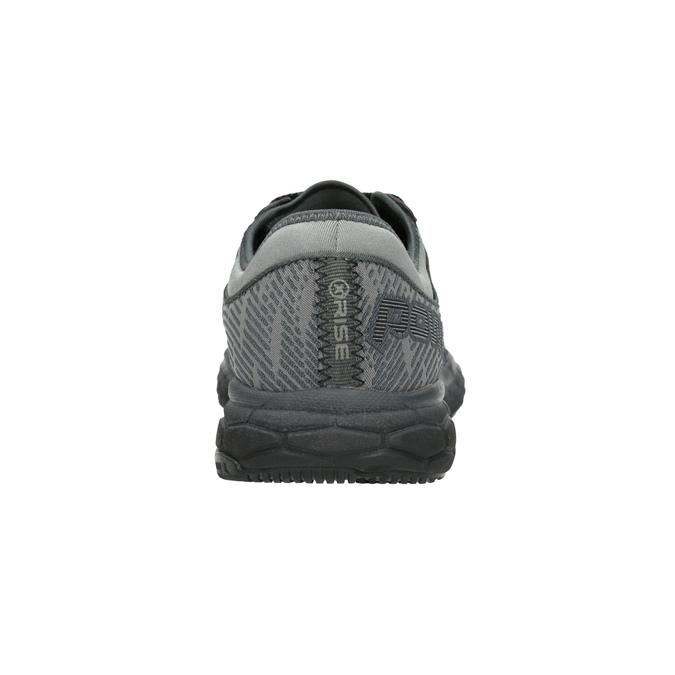 Szare trampki wsportowym stylu power, szary, 809-6852 - 16