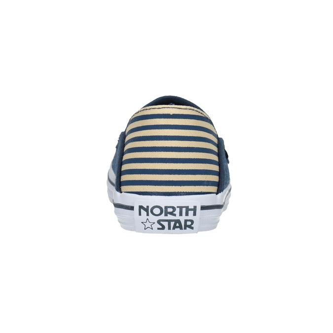 Slip-on dziecięce wdżinsowym stylu north-star, niebieski, 419-9615 - 15