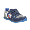 Niebieskie skórzane trampki dziecięce mini-b, niebieski, 213-9604 - 13