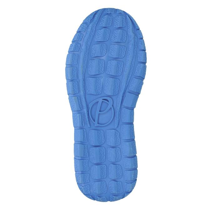 Niebieskie skórzane trampki dziecięce mini-b, niebieski, 213-9604 - 17