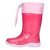Różowe kalosze dziewczęce mini-b, różowy, 192-5111 - 15