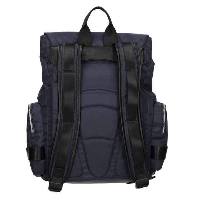 Niebieski plecak męski zmateriału tekstylnego atletico, niebieski, 969-9677 - 16