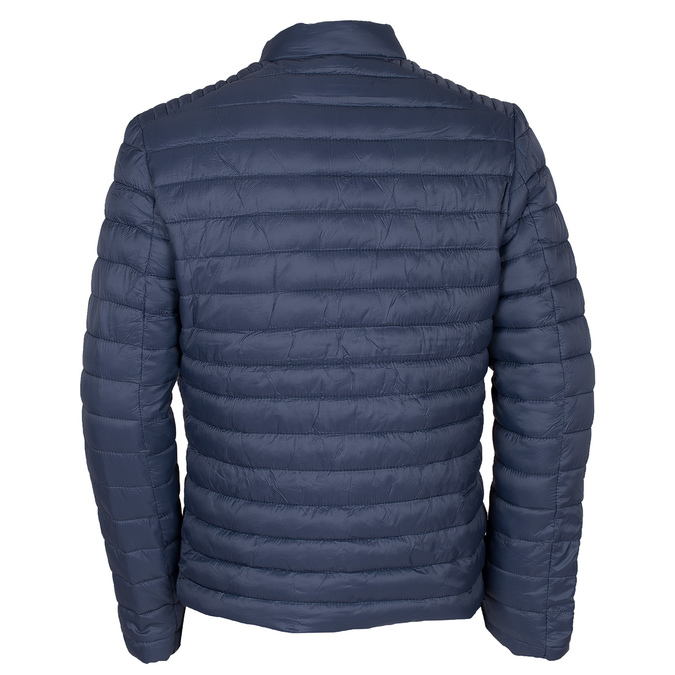 Granatowa pikowana kurtka męska bata, niebieski, 979-9114 - 26