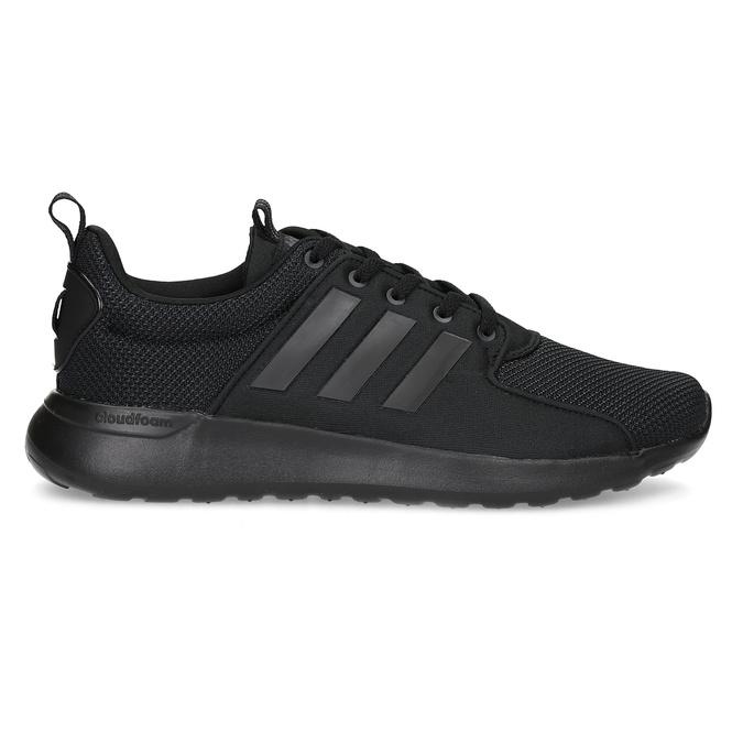 Czarne trampki męskie wsportowym stylu adidas, czarny, 809-6268 - 19