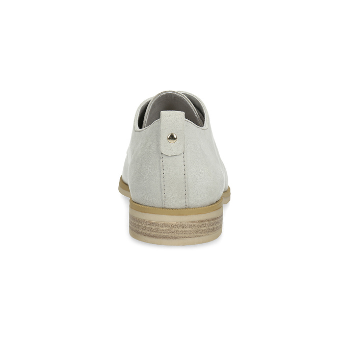 Nieformalne półbuty damskie bata, szary, 529-1636 - 15