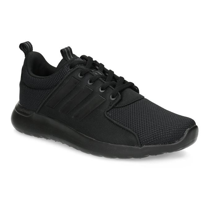 Czarne trampki męskie wsportowym stylu adidas, czarny, 809-6268 - 13