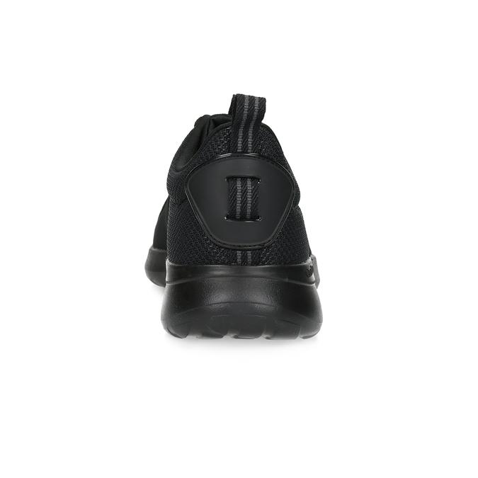 Czarne trampki męskie wsportowym stylu adidas, czarny, 809-6268 - 15