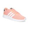 Trampki dziewczęce wkolorze łososiowym adidas, różowy, 409-5388 - 13