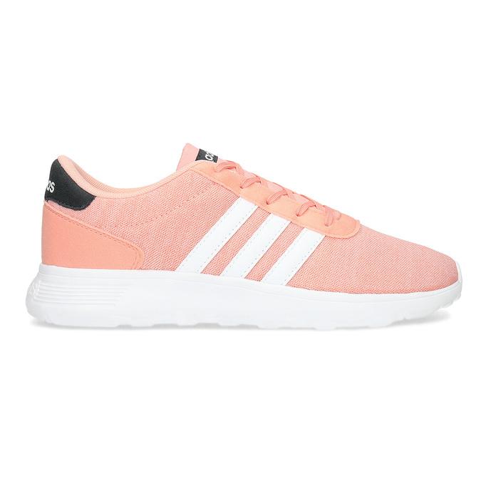 Trampki dziewczęce wkolorze łososiowym adidas, różowy, 409-5388 - 19