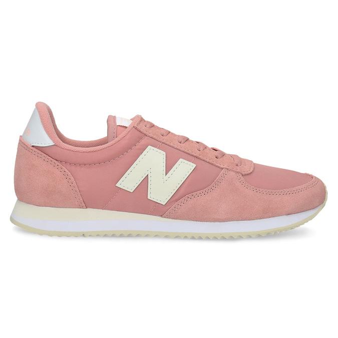 Różowe trampki damskie new-balance, różowy, 509-5871 - 19