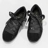 Czarne skórzane trampki ze wstążkami puma, czarny, 503-6738 - 16