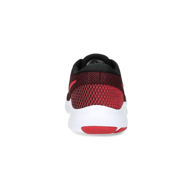 Trampki męskie zcholewką zdzianiny nike, czerwony, 809-5716 - 15