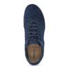 Granatowe nieformalne trampki męskie geox, niebieski, 849-9002 - 17