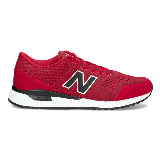 Czerwone skórzane trampki męskie New Balance new-balance, czerwony, 809-5739 - 19