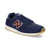 Granatowe skórzane trampki męskie New Balance new-balance, niebieski, 803-9207 - 13