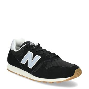 Skórzane trampki męskie New Balance 373 new-balance, czarny, 803-6207 - 13