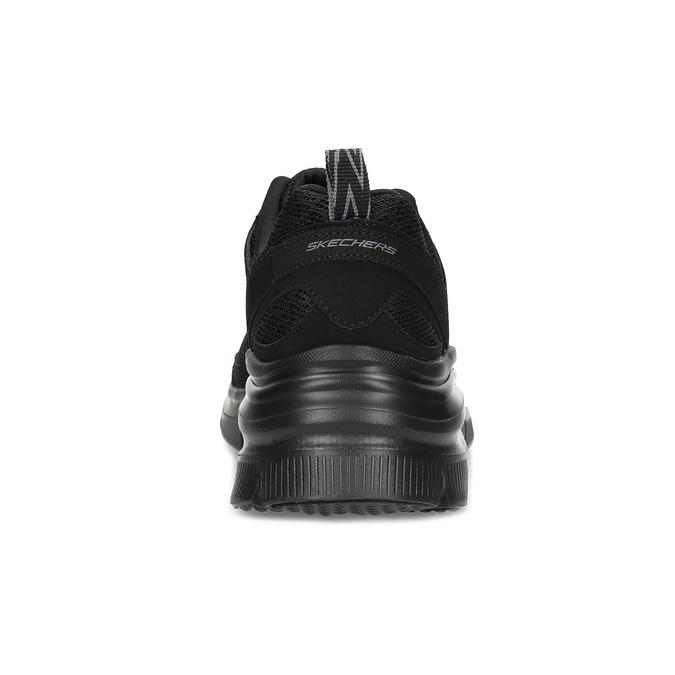 Czarne sportowe trampki Skechers skechers, czarny, 509-6321 - 15