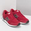 Czerwone skórzane trampki męskie New Balance new-balance, czerwony, 809-5739 - 26