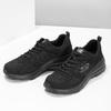 Czarne sportowe trampki Skechers skechers, czarny, 509-6321 - 16