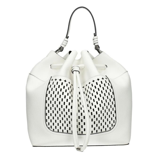 Biała torebka bucket bag bata, biały, 961-1298 - 26