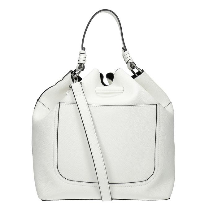 Biała torebka bucket bag bata, biały, 961-1298 - 16
