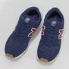 Granatowe skórzane trampki męskie New Balance new-balance, niebieski, 803-9207 - 16