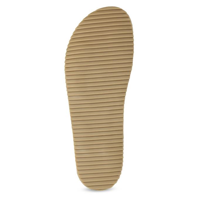 Skórzane sandały męskie bata, czarny, 866-6646 - 18