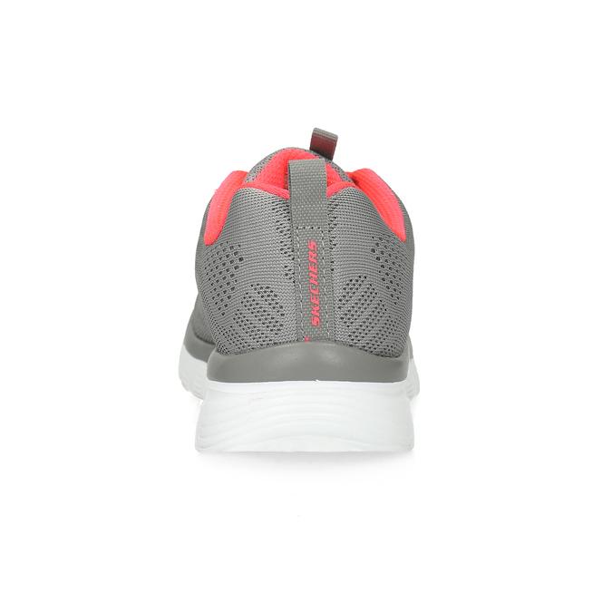 Różowo-szare sportowe trampki damskie skechers, szary, 509-2418 - 15