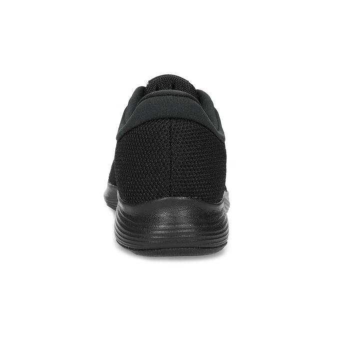 Czarne trampki męskie nike, czarny, 809-6651 - 15