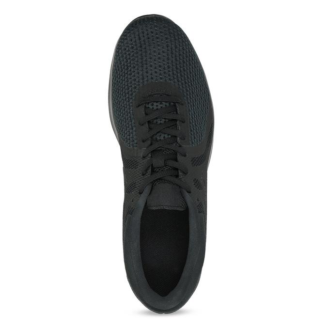 Czarne trampki męskie nike, czarny, 809-6651 - 17