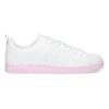 Białe trampki damskie zróżową podeszwą adidas, biały, 501-1533 - 19