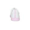 Białe trampki damskie zróżową podeszwą adidas, biały, 501-1533 - 15