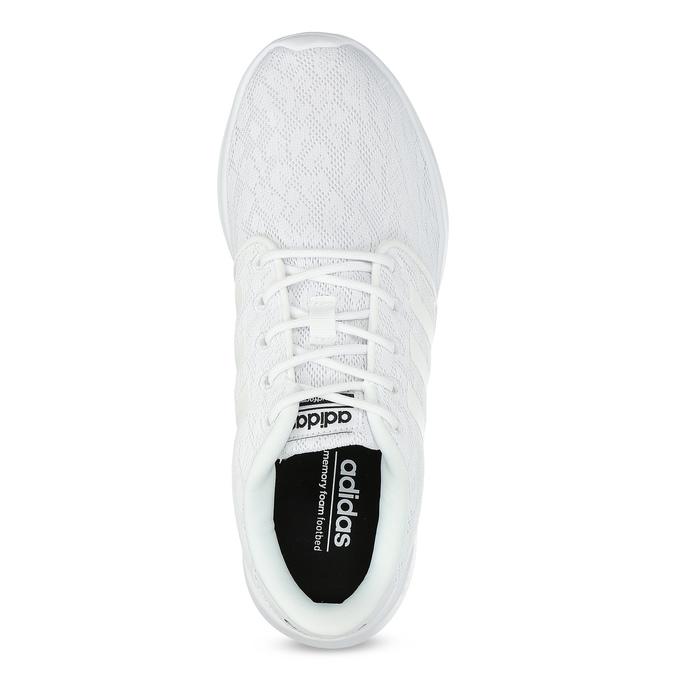 Białe trampki damskie zkoronką adidas, biały, 509-1112 - 17