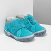 Skórzane obuwie dziecięce za kostkę bubblegummer, niebieski, 113-9608 - 26
