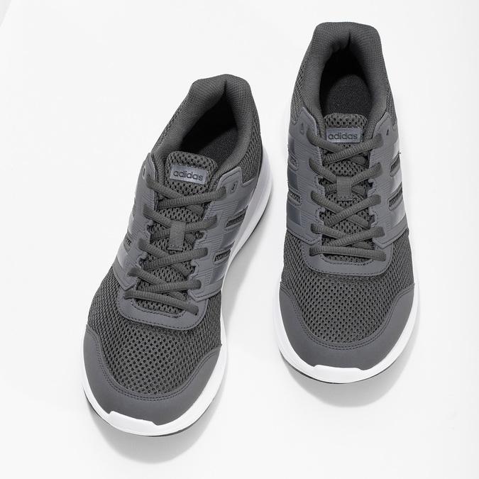 Szare trampki męskie adidas, szary, 809-6396 - 16