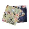Jasnozielona chusta wkolorowe kwiaty bata, multi color, 909-0252 - 13