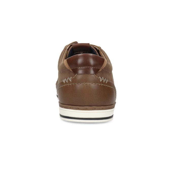 Brązowe nieformalne trampki bata-red-label, brązowy, 841-3616 - 15