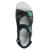 Sandały chłopięce wsportowym stylu mini-b, niebieski, 461-9607 - 17