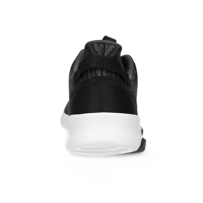 Trampki męskie wdrobny deseń adidas, czarny, 809-6301 - 15