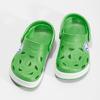Zielone sandały dziecięce zżabkami coqui, zielony, 272-7603 - 16