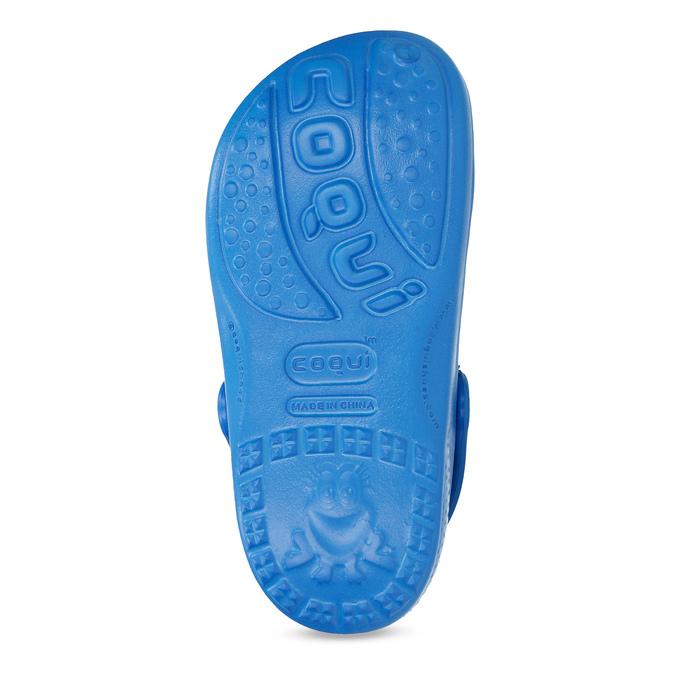 Niebieskie sandały dziecięce zżabą coqui, niebieski, 372-9655 - 18