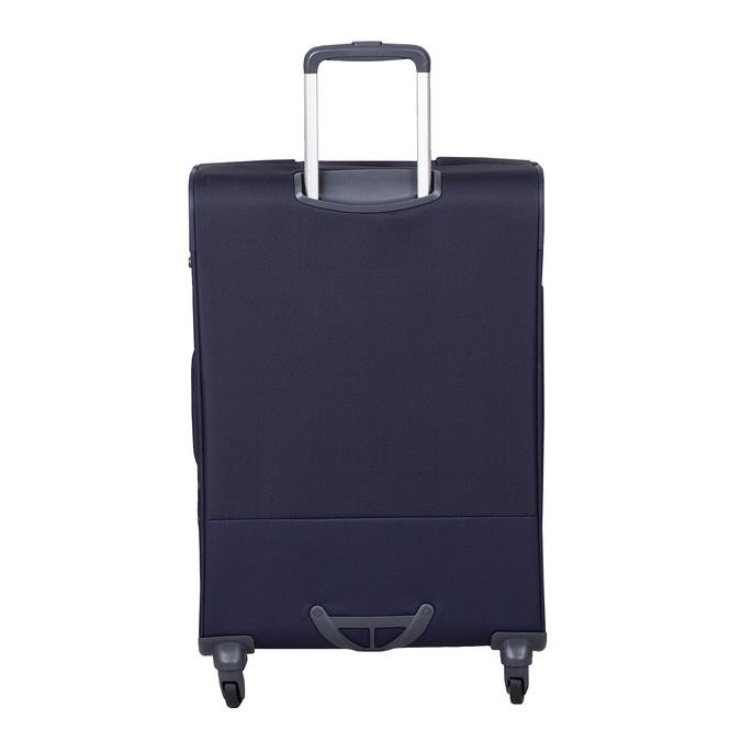 Mała miękka granatowa walizka na kółkach samsonite, niebieski, 960-9040 - 26