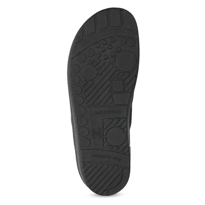 Kapcie męskie bata, niebieski, 879-9600 - 18