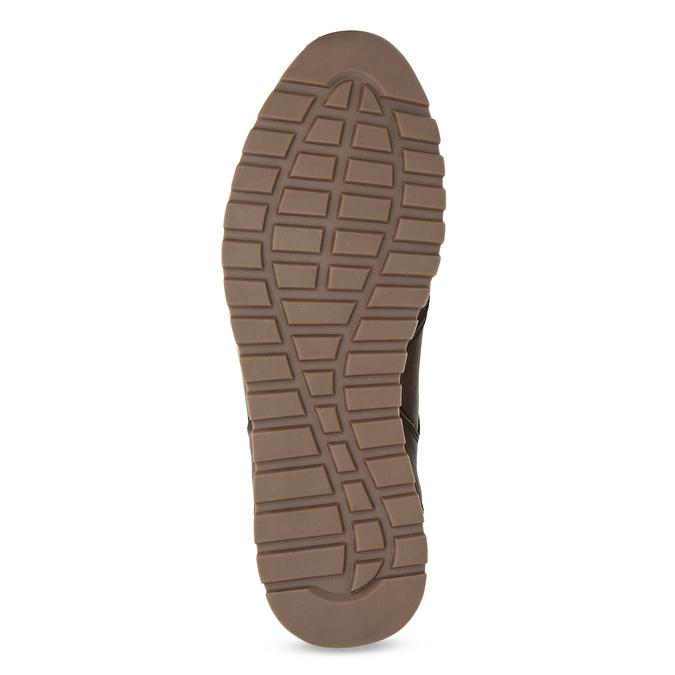 Zimowe obuwie ze skóry bata, brązowy, 846-4646 - 18