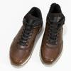 Zimowe obuwie ze skóry bata, brązowy, 846-4646 - 16
