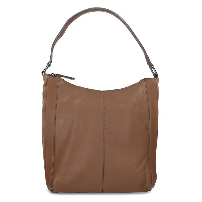 Brązowa skórzana torba bata, brązowy, 964-3254 - 26