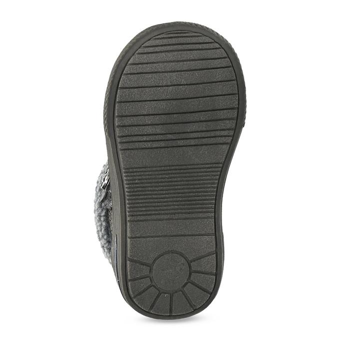 Zimowe buty dziecięce zociepliną bubblegummer, szary, 191-4619 - 18