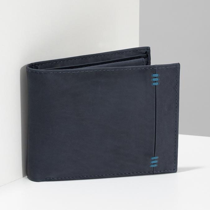 Skórzany portfel męski bata, niebieski, 944-9188 - 17